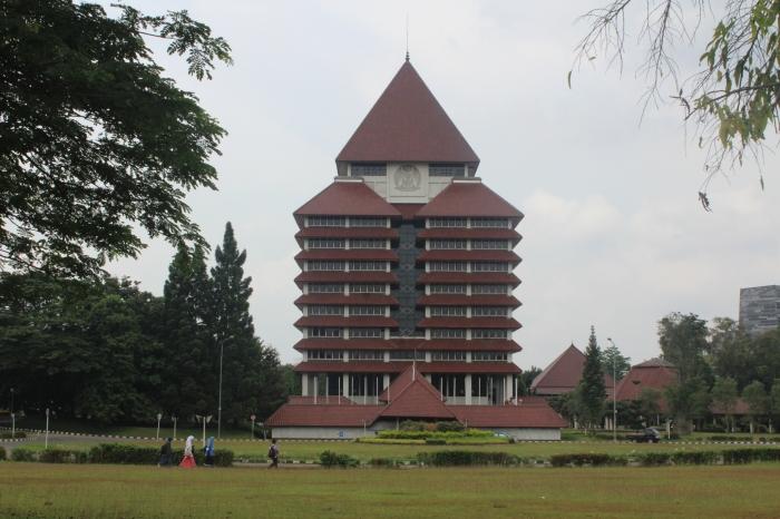 Gedung Rektorat Universitas Indonesia