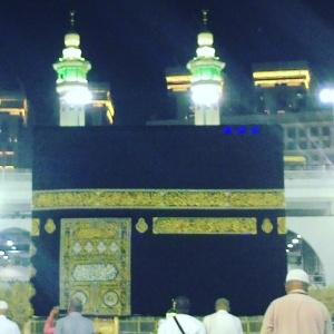 Kabah, Masjidil Haram, Makkah Al Mukarramah.